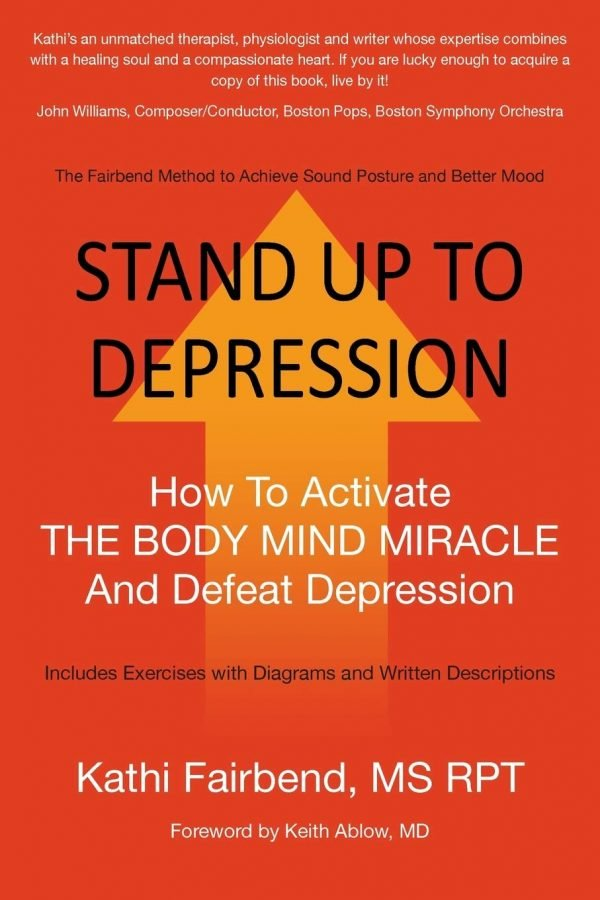 Book Cover, Stand Up To Depression